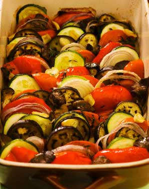 Рецепт: Кабачки тушеные с луком и помидорами - все